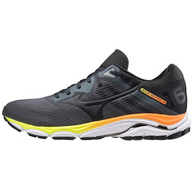 Mizuno Wave Inspire 16 Scarpe Uomo, castlerock/phantom/safety orange